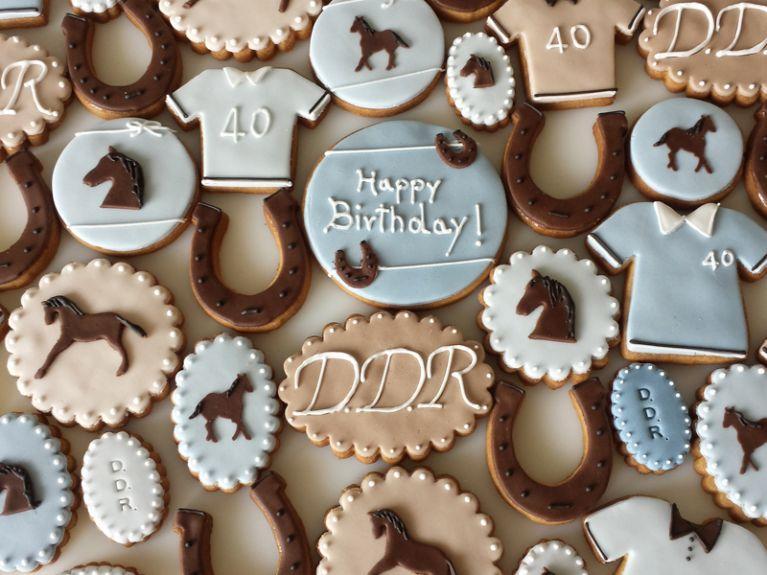 Biscotti fantasia compleanno