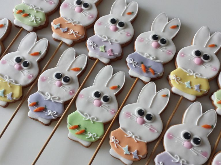 Biscotti fantasia coniglietto