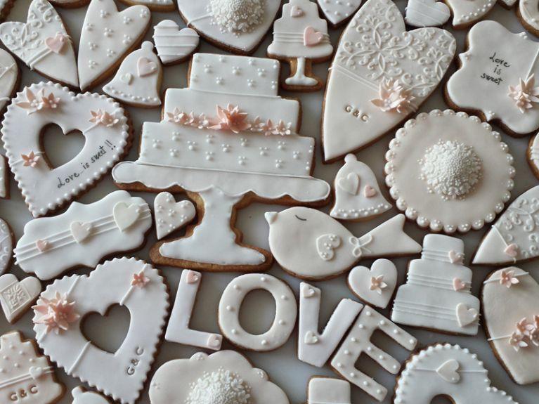 Biscotti fantasia matrimonio