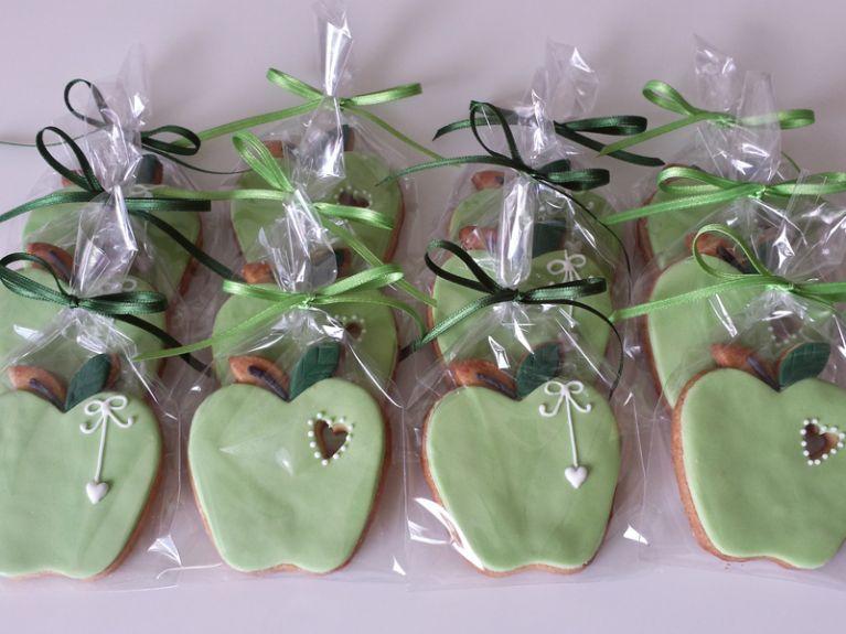 Biscotti fantasia mela verde